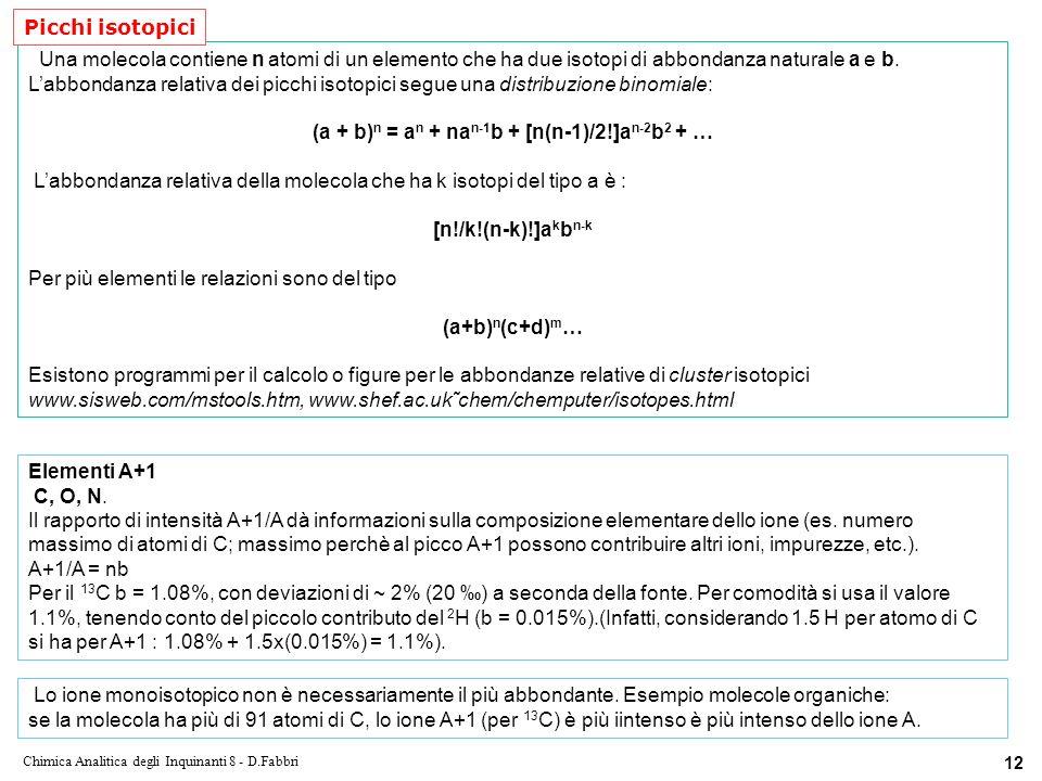 (a + b)n = an + nan-1b + [n(n-1)/2!]an-2b2 + …